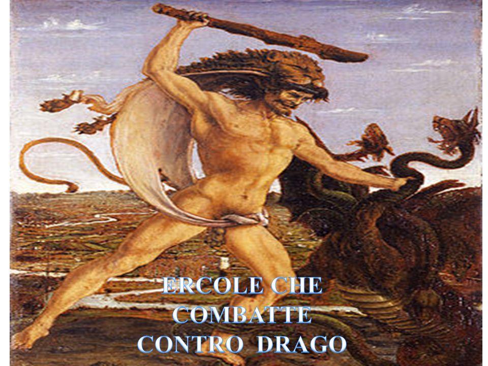 ERCOLE CHE COMBATTE CONTRO DRAGO