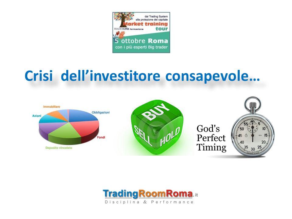 Crisi dell'investitore consapevole…