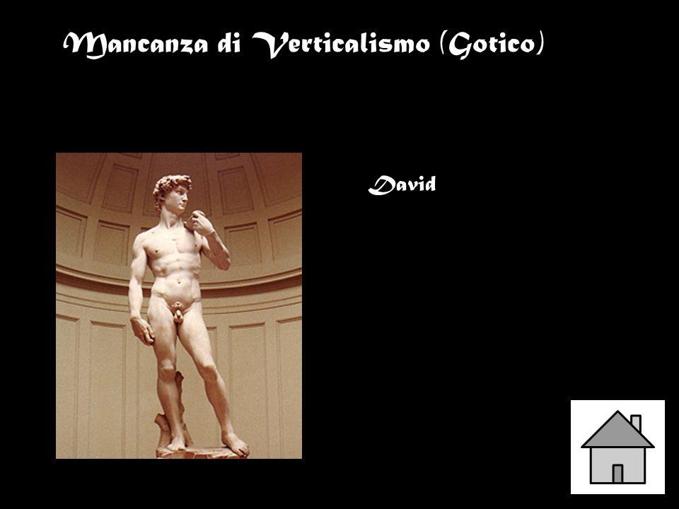 Mancanza di Verticalismo (Gotico)