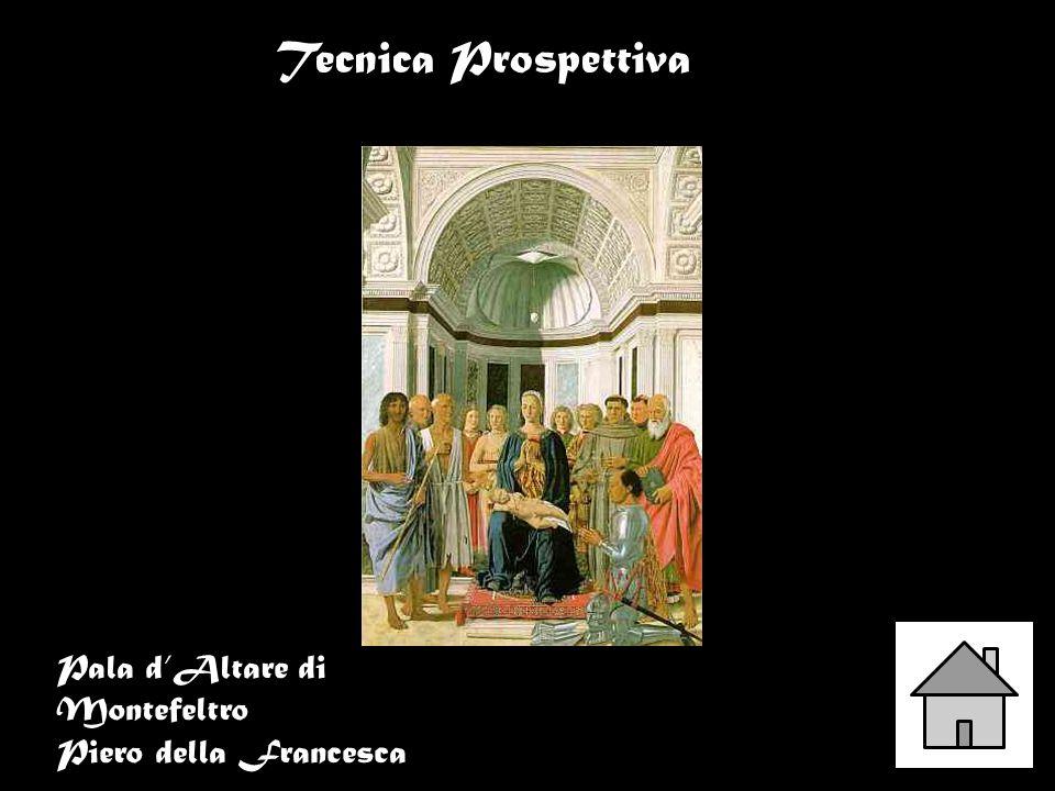 Tecnica Prospettiva Pala d'Altare di Montefeltro Piero della Francesca
