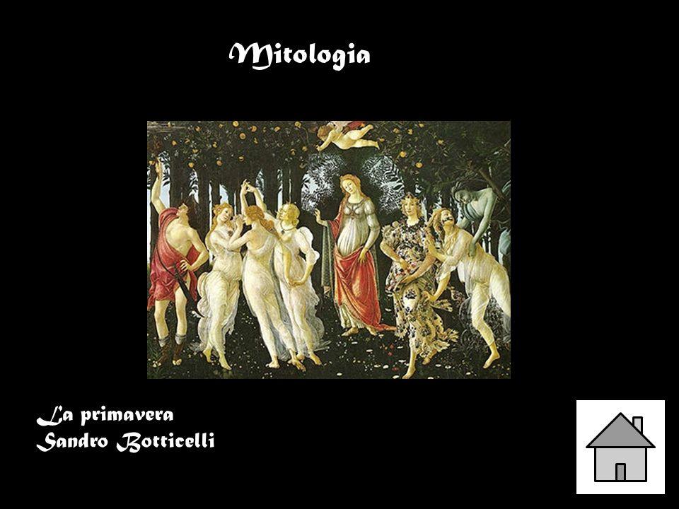Mitologia La primavera Sandro Botticelli