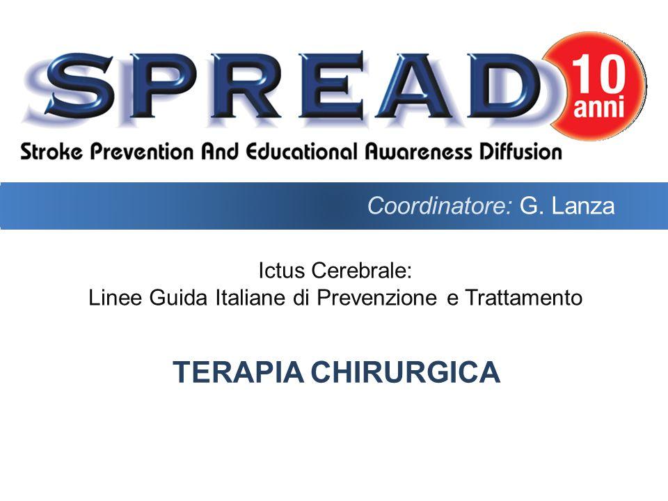 Coordinatore: G. Lanza Terapia chirurgica