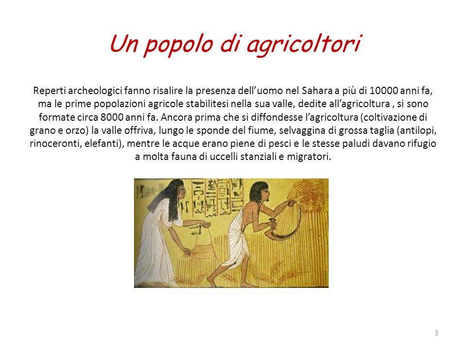 Un popolo di agricoltori