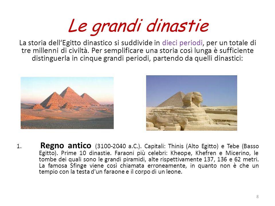 Le grandi dinastie