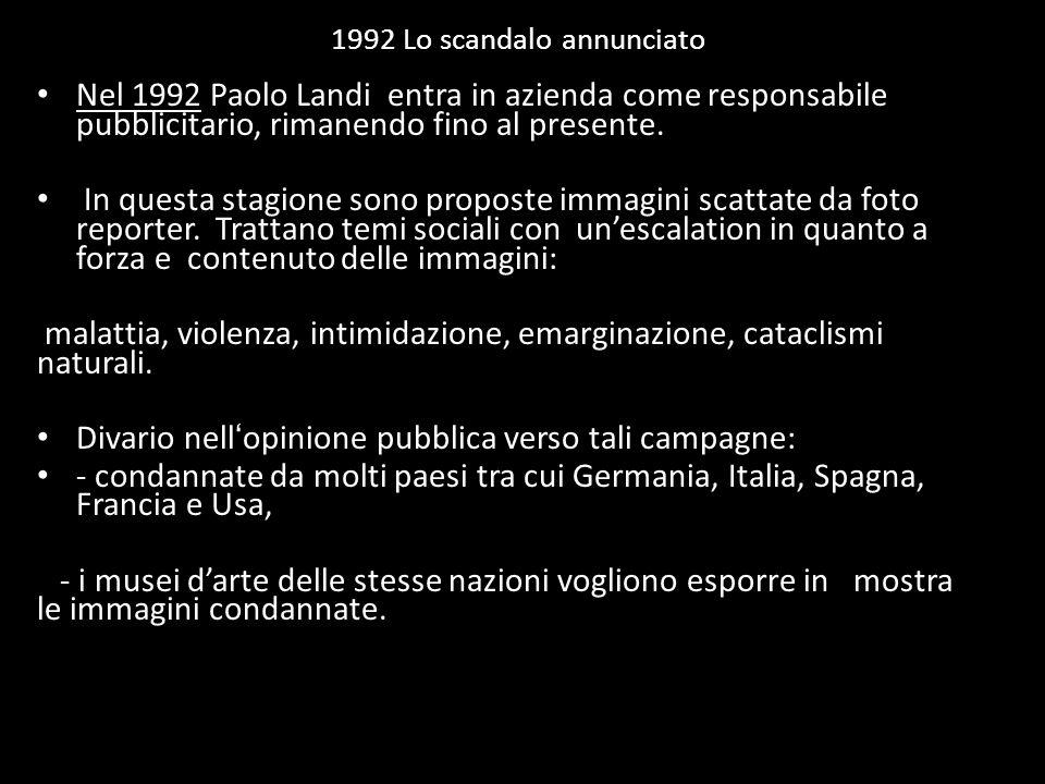 1992 Lo scandalo annunciato