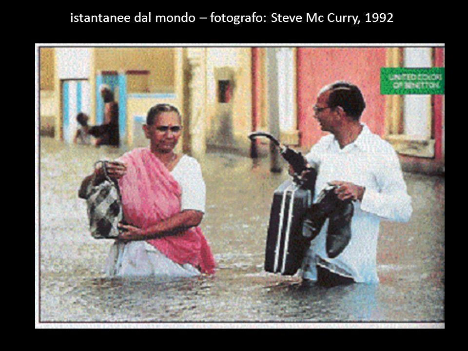 istantanee dal mondo – fotografo: Steve Mc Curry, 1992