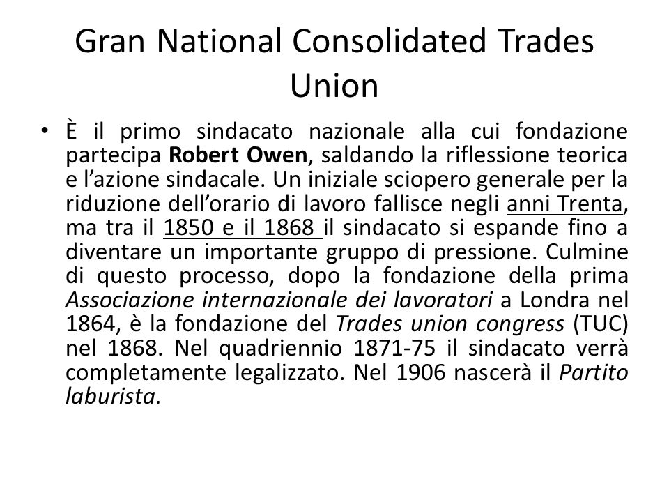 Gran National Consolidated Trades Union