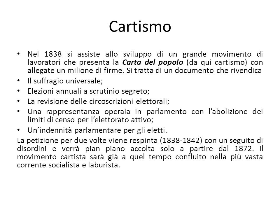 Cartismo