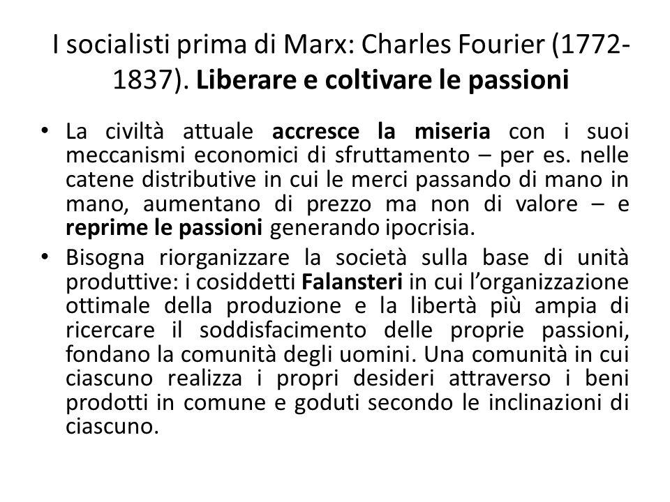 I socialisti prima di Marx: Charles Fourier (1772-1837)