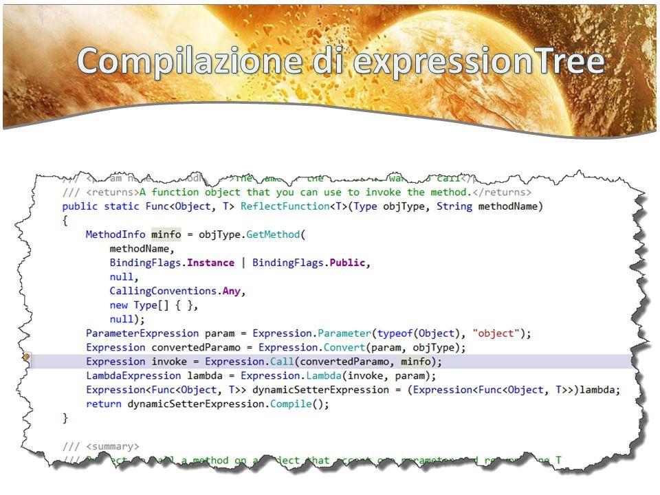 Compilazione di expressionTree