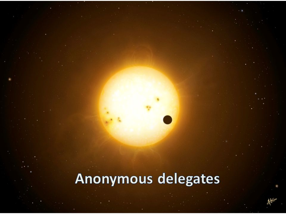 Anonymous delegates