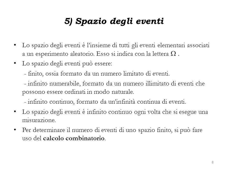 5) Spazio degli eventi