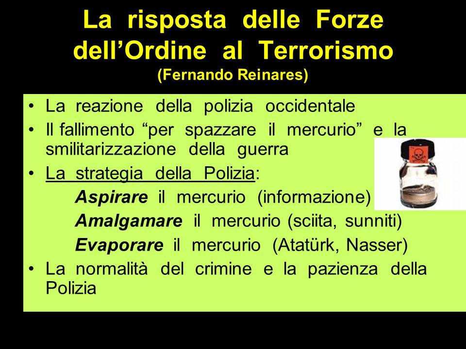 La risposta delle Forze dell'Ordine al Terrorismo (Fernando Reinares)