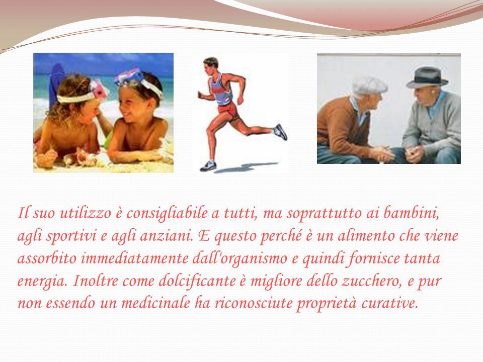 Il suo utilizzo è consigliabile a tutti, ma soprattutto ai bambini, agli sportivi e agli anziani.