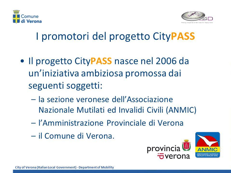 I promotori del progetto CityPASS
