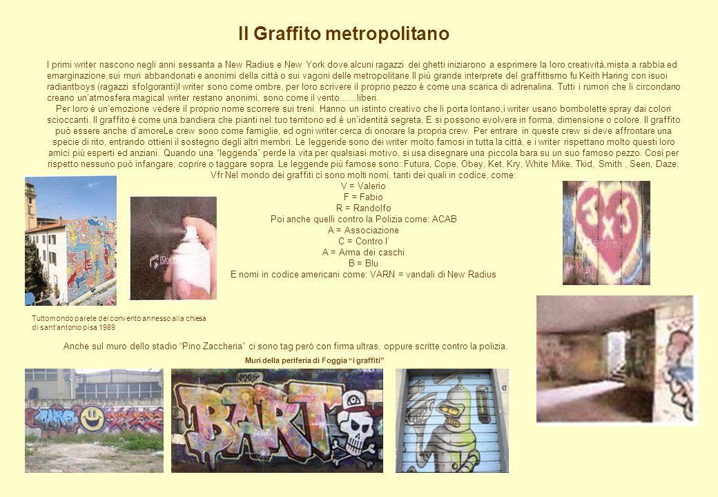 Il Graffito metropolitano Muri della periferia di Foggia i graffiti