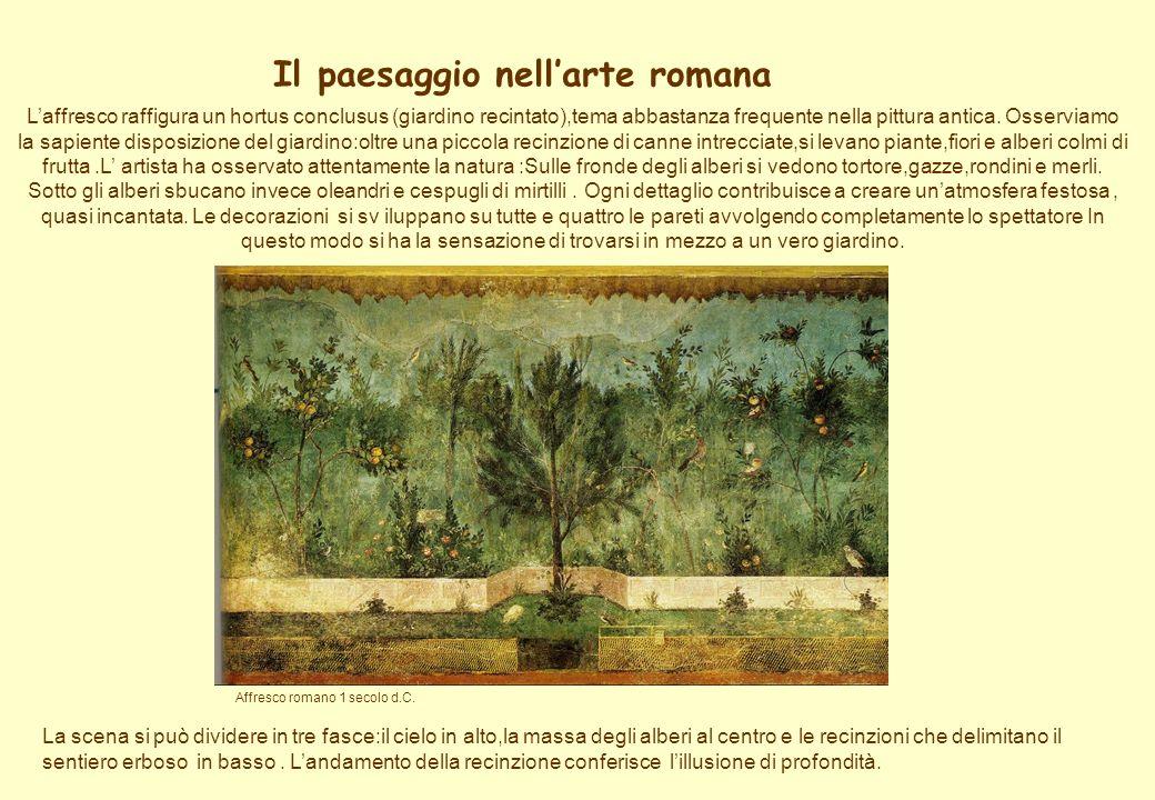 Il paesaggio nell'arte romana