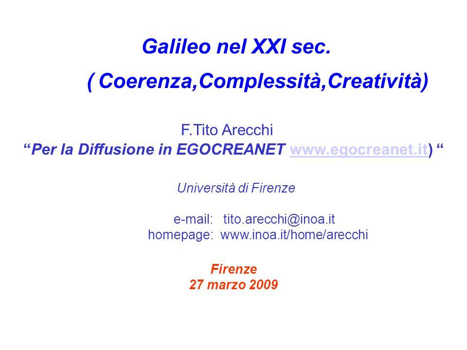 Per la Diffusione in EGOCREANET www.egocreanet.it)