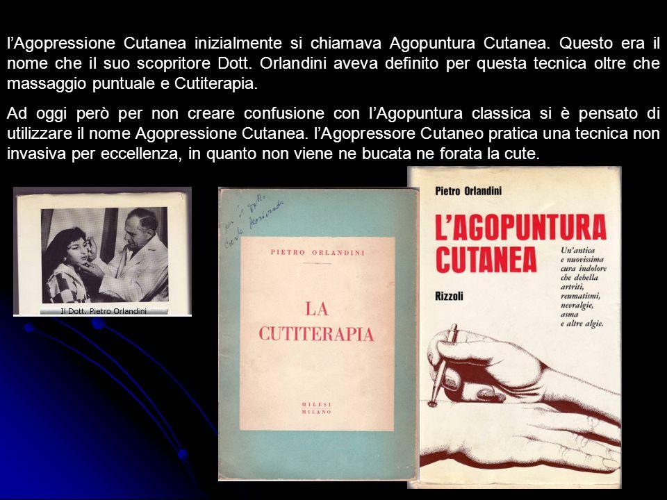 l'Agopressione Cutanea inizialmente si chiamava Agopuntura Cutanea