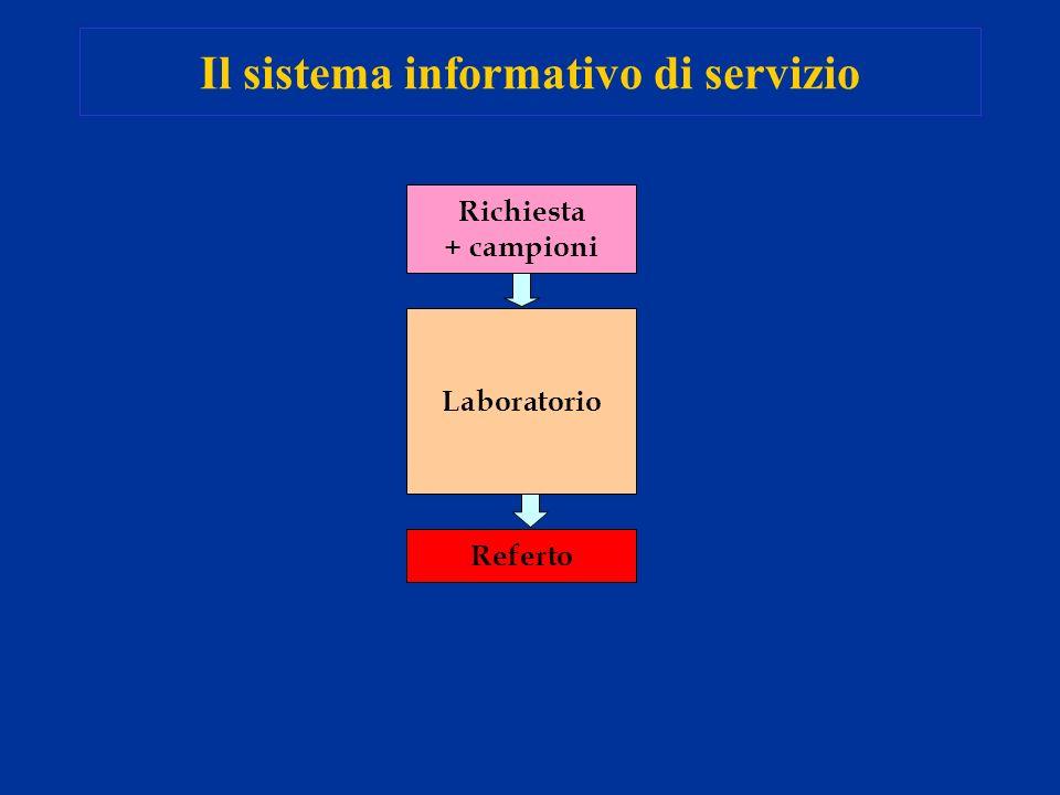 Il sistema informativo di servizio