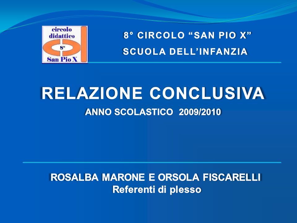 ROSALBA MARONE E ORSOLA FISCARELLI