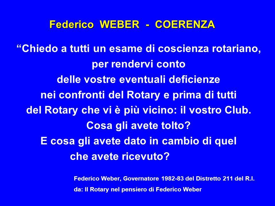 Federico WEBER - COERENZA