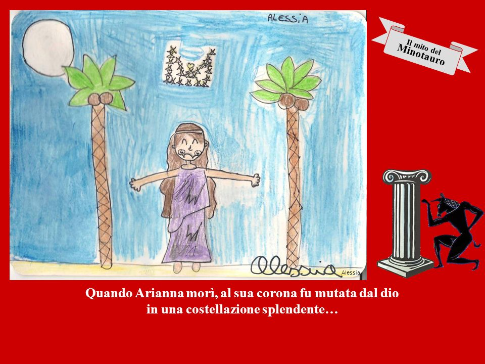 Quando Arianna morì, al sua corona fu mutata dal dio