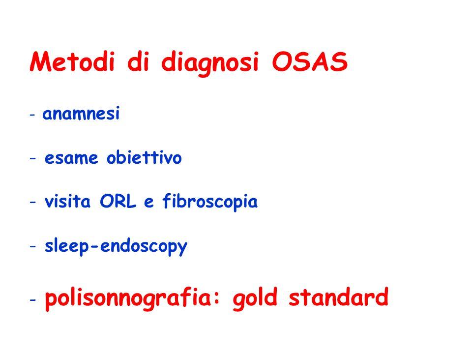 Metodi di diagnosi OSAS