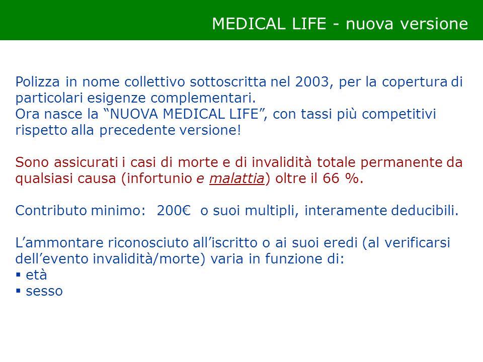 MEDICAL LIFE - nuova versione