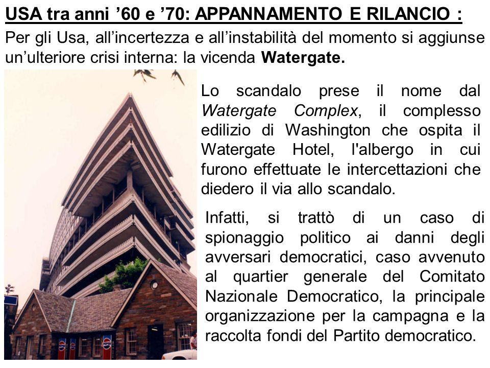 Questione atomica e distensione ppt scaricare for Scandalo di watergate