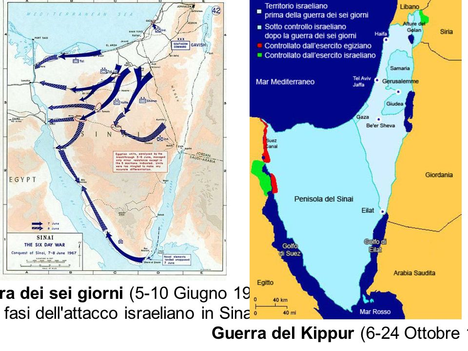Guerra dei sei giorni (5-10 Giugno 1967)