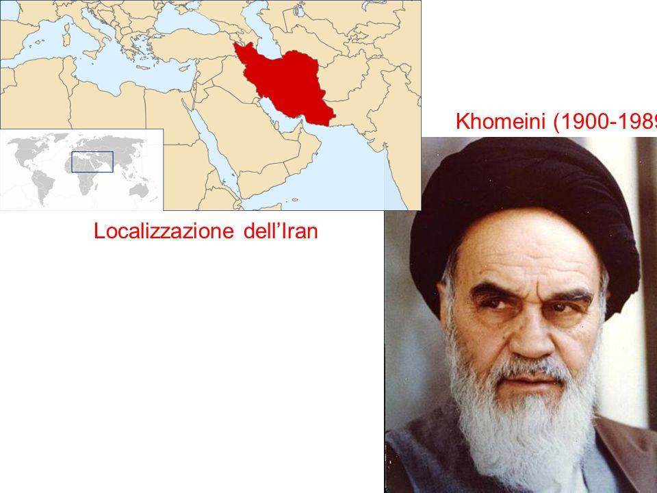 Localizzazione dell'Iran