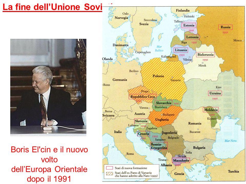 La fine dell'Unione Sovietica
