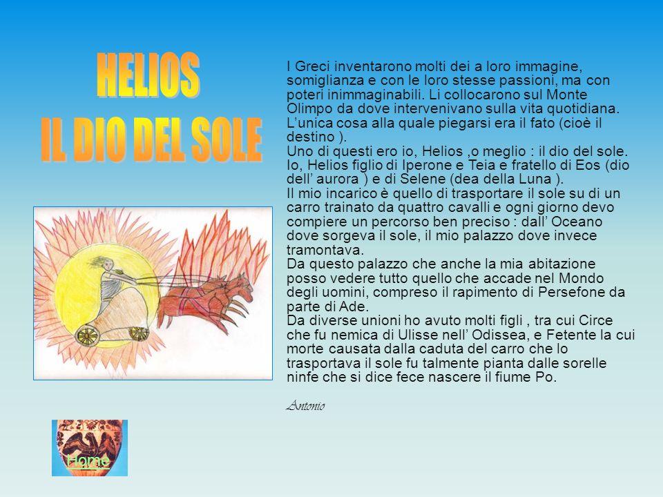 HELIOS IL DIO DEL SOLE Home