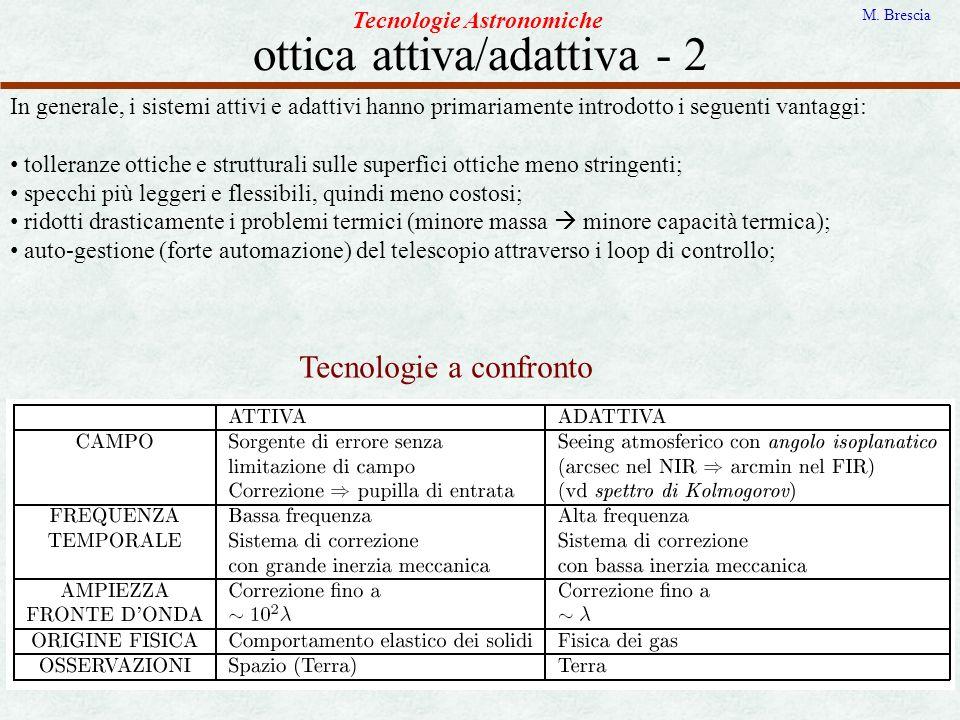 ottica attiva/adattiva - 2