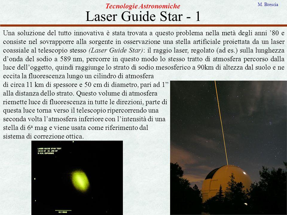Laser Guide Star - 1 Tecnologie Astronomiche
