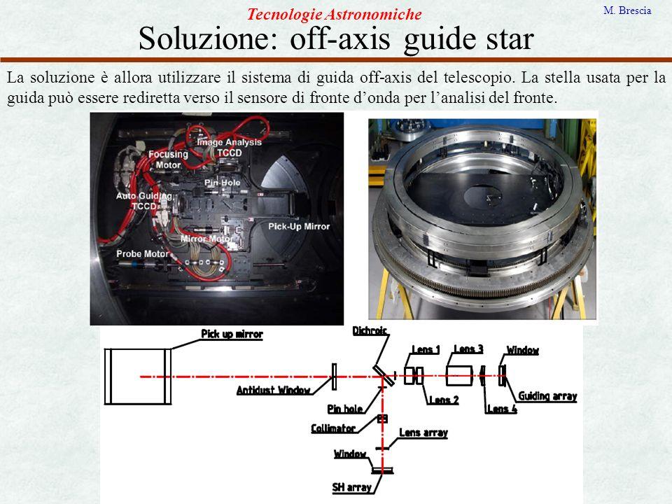 Soluzione: off-axis guide star