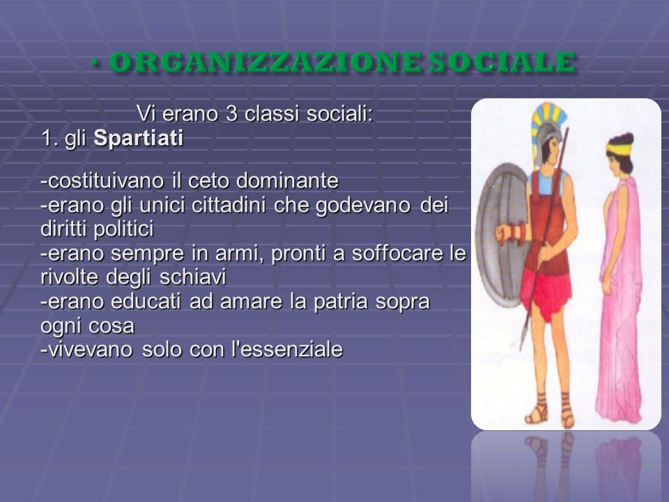 ORGANIZZAZIONE SOCIALE