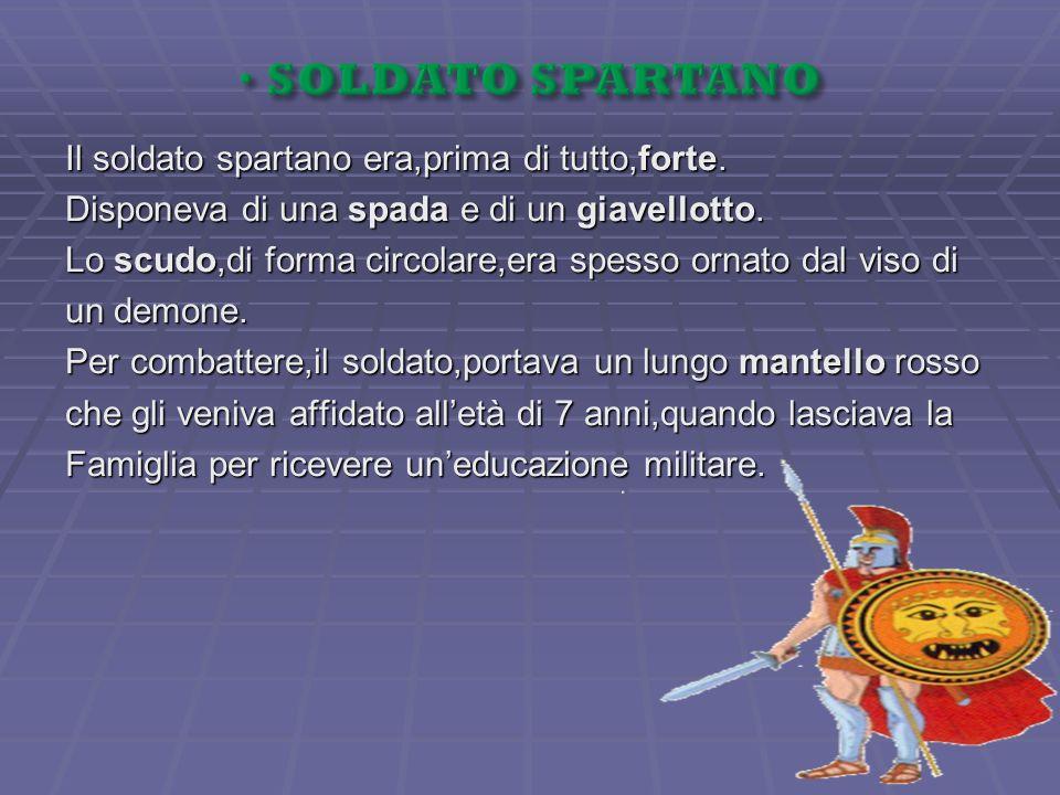 SOLDATO SPARTANO
