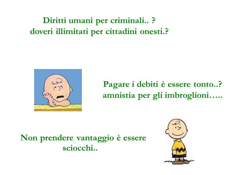 Diritti umani per criminali..