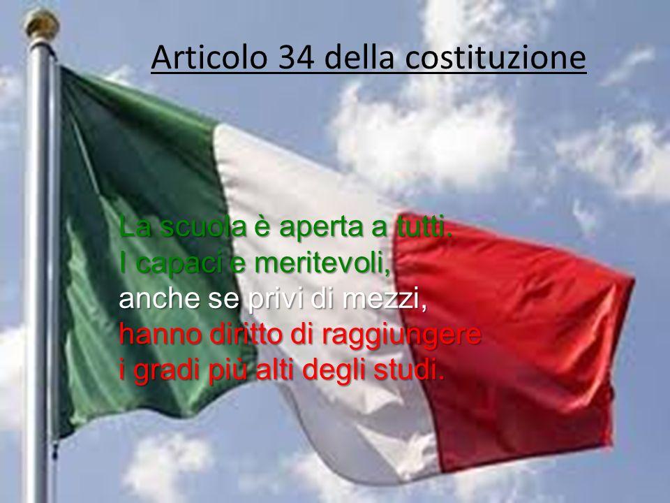 Articolo 34 della costituzione