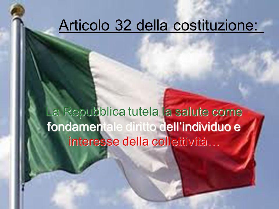 Articolo 32 della costituzione: