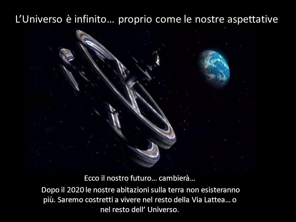 L'Universo è infinito… proprio come le nostre aspettative …