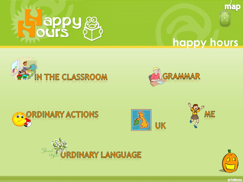happy hours grammar In the classroom Ordinary actions me uk