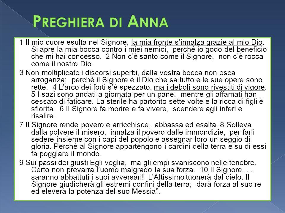 Preghiera di Anna