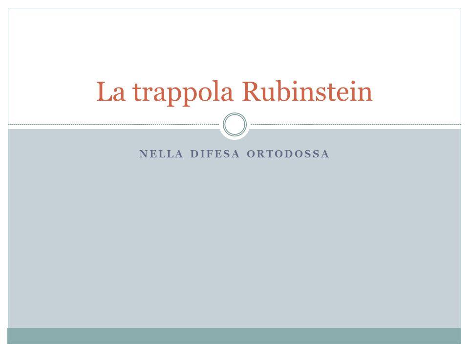 La trappola Rubinstein