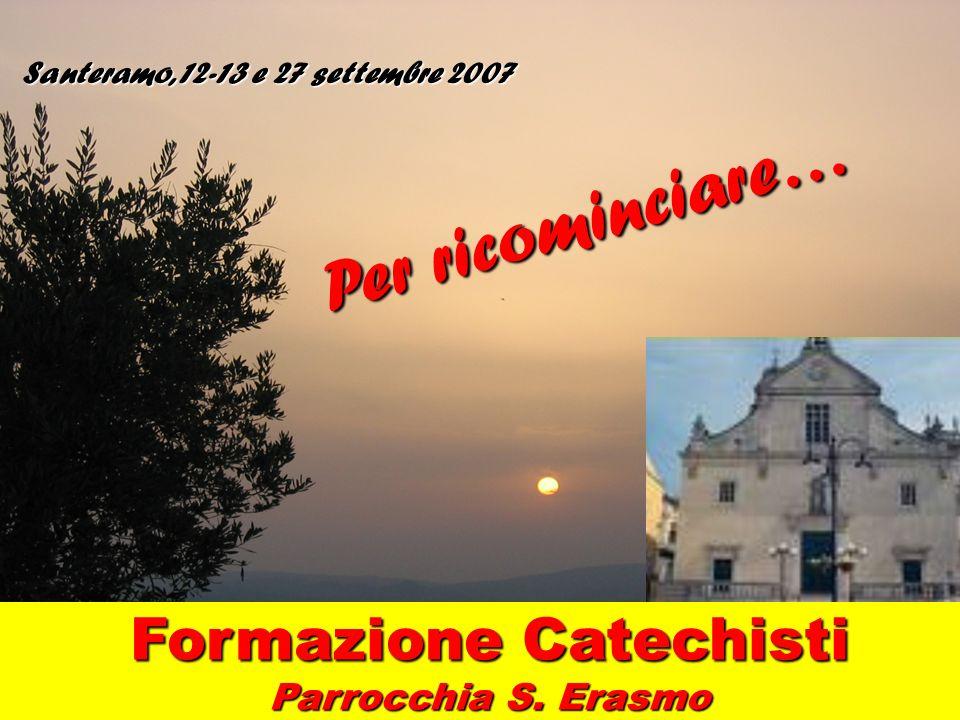 Formazione Catechisti Parrocchia S. Erasmo