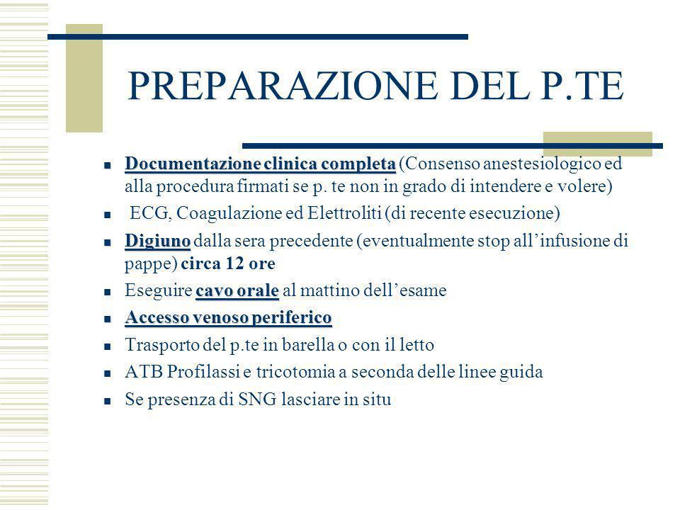 PREPARAZIONE DEL P.TE