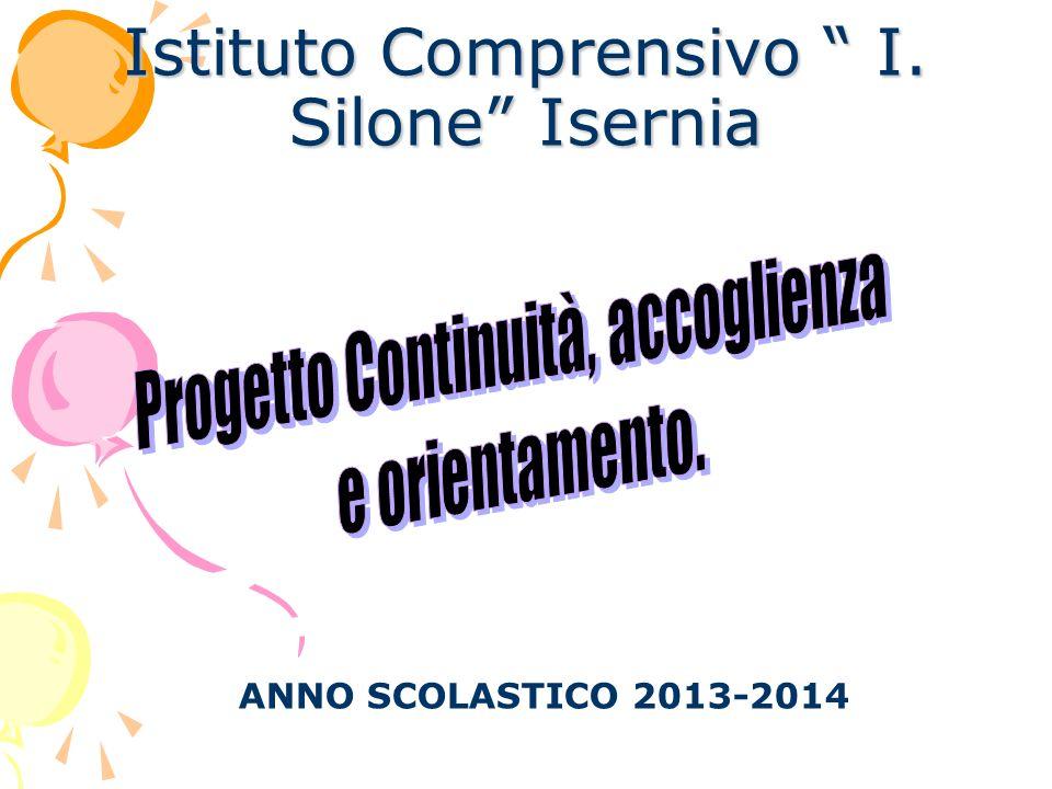 Istituto Comprensivo I. Silone Isernia