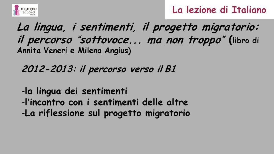 La lezione di Italiano